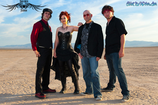 Official band photo for local group, The Roxy Gunn Project, who can be seen performing at casinos and events all over Las Vegas.