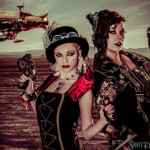 Las Vegas Dry Lake Bed Photography with Steampunk and Poi!
