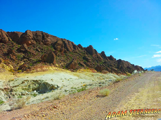 One of the locations I found while I was out scouting on the south west side of Lake Mead. Out here are some amazing canyons and rock formations but like many of the really great locations, 4-wheel drive is recommended.