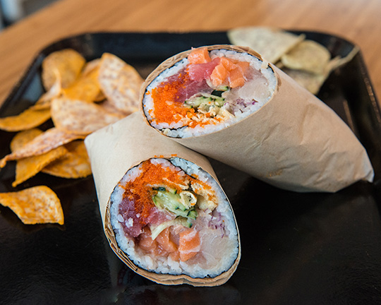 Photo I shot for Soho Sushi Burrito...an innovative new food concept to hi Las Vegas.