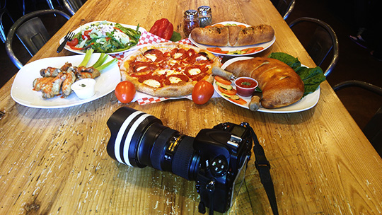 What do I shoot first? Behind-the-scenes at Joe's New York Pizza